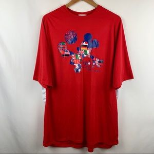 Disney Parks Epcot World Showcase Soccer Tshirt